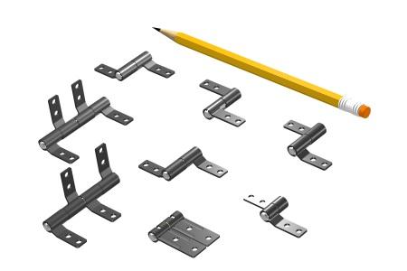 SB-188 Standard Friction Hinge Series